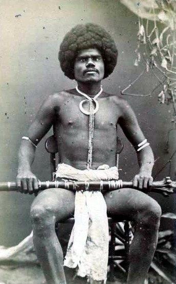 Fijian mountain warrior, Kai Colo