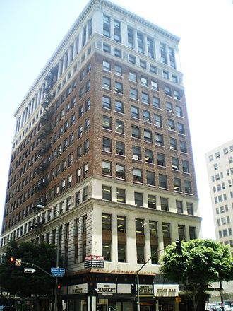 Samuel Tilden Norton - Financial Center Building on Spring St., designed by Norton and also the location of his office