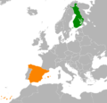 Finland Spain Locator.png