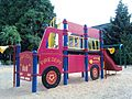 Fire engine play structure at Bagley Park - Hillsboro, Oregon.jpg