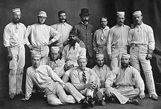 History of Test cricket from 1877 to 1883 - The Australian team of 1878