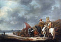 Fish sellers at the beach, by Benjamin Gerritsz Cuyp.jpg