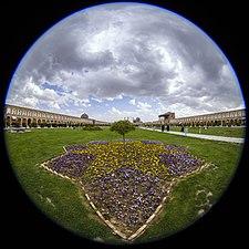 "Fisheye lenses - Canon 8-15 ""Sheikh Lotfollah Mosque"" لنز فیش آی (چشم ماهی) 8-15 کانن، مسجد شیخ لطف الله اصفهان.jpg"