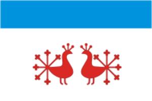 Verkhnelandekhovsky District - Image: Flag of Verkhniy Landekh rayon (Ivanovo oblast)
