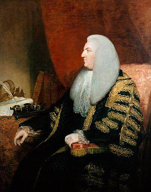 Fletcher Norton, 1st Baron Grantley - Fletcher Norton, Speaker of House of Commons, 1770.