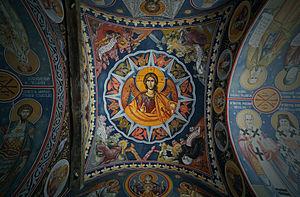 Radu Vodă Monastery - Belfry of Radu Vodă Monastery