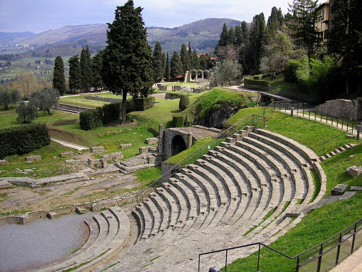 フィエーゾレ・古代ローマ劇場