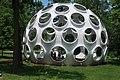 Fly's Eye Dome by Buckminster Fuller, Crystal Bridges Museum.JPG