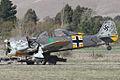 Focke-Wulf Fw190A-8 after mishap at 2015 Omaka Airshow.jpg