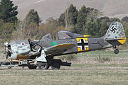 Focke-Wulf Fw190A-8 after mishap at 2015 Omaka Airshow.jpg