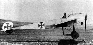 Fokker E.III fighter aircraft