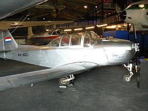 Fokker S-11 - S-12 prototype in Dutch civilian markings