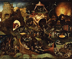 Limbo - Image: Follower of Jheronimus Bosch Christ in Limbo