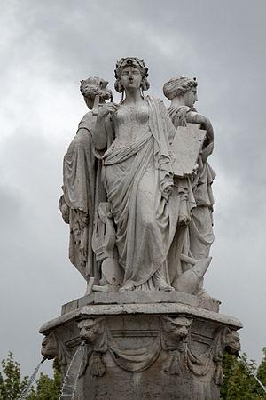 Hippolyte Ferrat - Image: Fontaine de la Rotonde 20100508 Aix en Provence 16