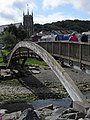 Foot bridge, Aberaeron - geograph.org.uk - 1445619.jpg