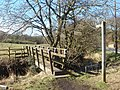 Footbridge at White Coppice - geograph.org.uk - 131031.jpg