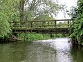 Footbridge from the river - Yarwell - June 2013 - panoramio.jpg