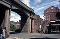 Footbridge over Northgate Street, Chester - geograph.org.uk - 811435.jpg