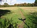 Footpath across field towards Fishbourne - geograph.org.uk - 1021652.jpg