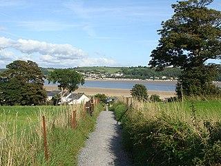 Ferryside Human settlement in Wales