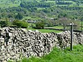 Footpath sign in the fields below Castle Bolton - geograph.org.uk - 1579638.jpg