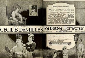 For Better, for Worse (1919 film) - Ad for film