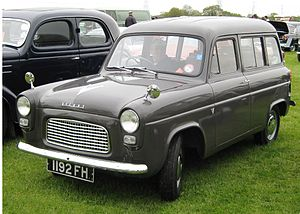 Ford Squire - A less expensive variant of the Ford Squire was branded as the Ford Escort.