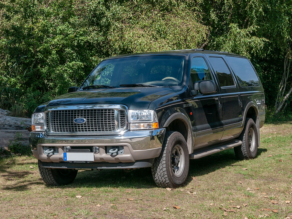Ford Expedition El >> Ford Excursion – Wikipedia