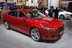 Ford Mondeo - Mondial de l'Automobile de Paris 2014 - 001.jpg