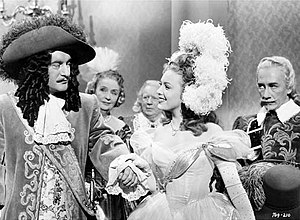 Forever Amber (film) - L-R: George Sanders, Linda Darnell, and Richard Haydn