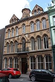 Former News Letter office, Belfast, July 2010 (01)