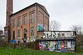 Former boiler house Werner Ehlers bedspring down factory Linden-Nord Hannover Germany 01.jpg