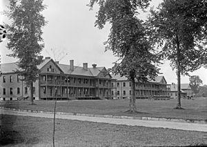 337th Infantry Regiment (United States) - Image: Fort Brady Barracks c 1908
