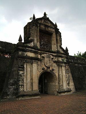 Fort Santiago-Manila, Intromuros