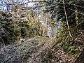 Fossé défensif du château du Rosemont.jpg