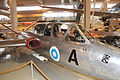 Fouga CM 170 Magister (FM-45) Keski-Suomen ilmailumuseo 7.JPG