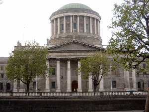 Byrne v. Ireland - Four Courts Ireland's main Courts building