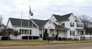 Fowlerville, Michigan - Image: Fowlerville Michigan Municipal Offices