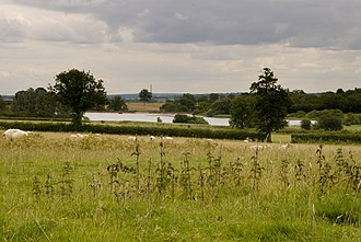 Foxcote Reservoir and Wood - Image: Foxcote Reservoir geograph.org.uk 1394206