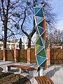 Frýdlant nad Ostravicí, Spořitelní, park, lampy 02.jpg
