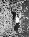 fragment oude muur tegen meeuws- en metsel-kapel - amsterdam - 20012675 - rce