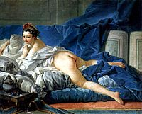 Odalisque de Boucher, 1740