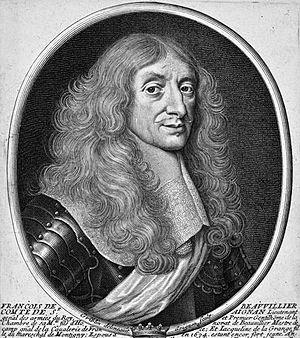 François de Beauvilliers, 1st duc de Saint-Aignan - François-Honorat de Beauvilliers, 1st duc de Saint-Aignan.