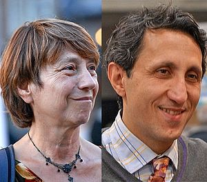 Quebec general election, 2008 - Image: Françoise David Amir Khadir