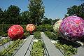 France Loir-et-Cher Festival jardins Chaumont-sur-Loire 2006 19 Flower n roll 01.JPG