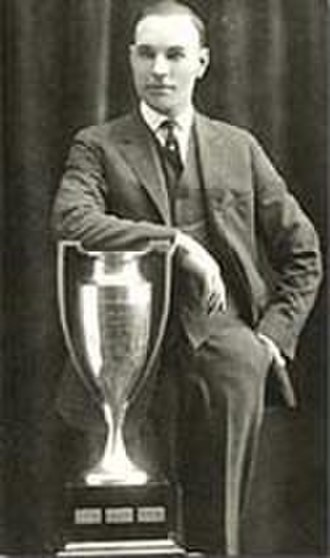 Lady Byng Memorial Trophy - Frank Nighbor, two-time winner, (pictured with original trophy)