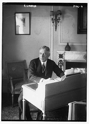 Frank Orren Lowden - Image: Frank Orren Lowden in 1920