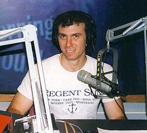 Frank Borzellieri - Frank Borzellieri on the Ann Liguori Show at the WFAN radio studio in New York, 2006