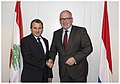 Frans Timmermans and Lebanese Foreign Minister Gebran Bassil.jpg