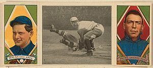 Fred Payne (baseball) - Fred Payne, Hassan triple folder baseball card